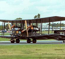 Vickers Vimy IV replica G-AEOU NX71MY by Colin Smedley