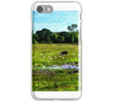 Gathering at the Water Hole iPhone Case/Skin
