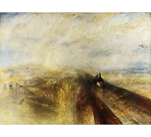Rain, Steam and Speed by JMW Turner Photographic Print