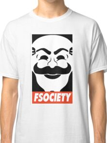 FSociety, Mr. Robot Classic T-Shirt