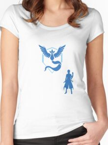 Pokemon BLANCHE Women's Fitted Scoop T-Shirt