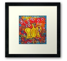 Ex Flammis Clarior, Out of Flame, Brightness Framed Print