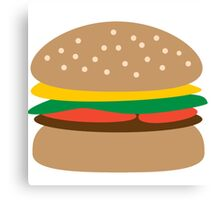 Hamburger Canvas Print