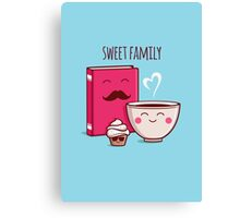 Sweet Family Canvas Print