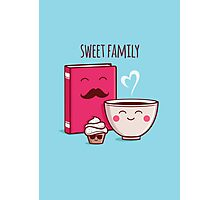 Sweet Family Photographic Print