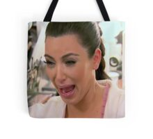 Kim Kardashian Face 2 Tote Bag