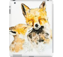 With Love and Fur Watercolor Painting iPad Case/Skin