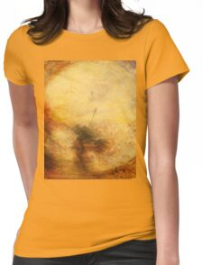Light and Colour by JMW Turner Womens Fitted T-Shirt