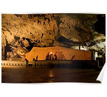Reclining Buddha in Cave Sanctuary  Poster