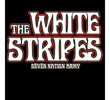 The white stripes - seven nation army Photographic Print