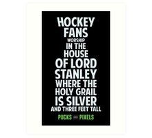 House of Stanley (Silver) Art Print