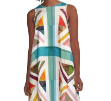MultiCultural Britain A-Line Dress