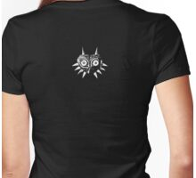Majora's Mask (White) Womens Fitted T-Shirt