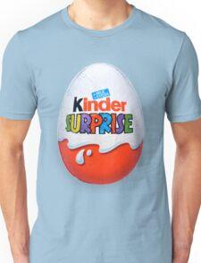 Kinder Surprise Chocolate Egg Unisex T-Shirt