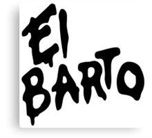 El Barto Canvas Print