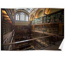 Rijksmuseum Library Poster