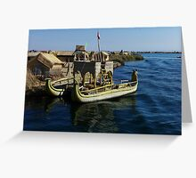 The Highest Lake in The World Greeting Card