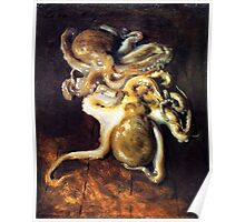 Octopi by John Sargent Poster