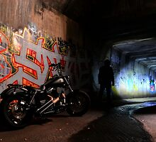 Tunnel Rider... by Jarrod Lees