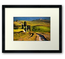 Impression from Toscany Framed Print