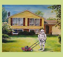 Suburbia by David Irvine