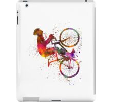 cyclist road bicycle iPad Case/Skin