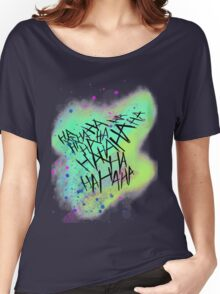 Suicide Squad Joker Harley Quinn Women's Relaxed Fit T-Shirt