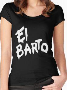 El Barto Women's Fitted Scoop T-Shirt