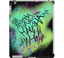 Suicide Squad Joker Harley Quinn iPad Case/Skin