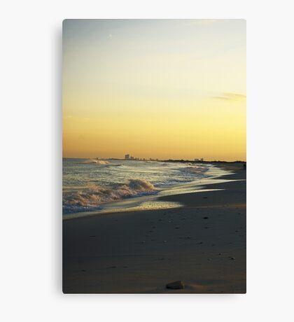 Atlantic City Skyline, Holgate LBI NJ Canvas Print