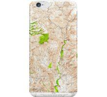 USGS TOPO Map Arizona AZ Turret Peak 315414 1929 125000 iPhone Case/Skin