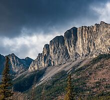 The Rockies at Exshaw by mspixvancouver