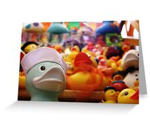 Flock Of Ducks: 02 Greeting Card