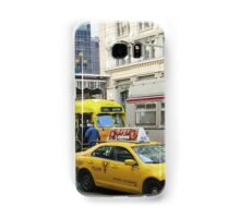 In The Morning on Market Street Samsung Galaxy Case/Skin