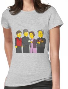 Father Ted - Simpsons Style! Womens Fitted T-Shirt