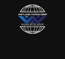 Weyland Yutani - World Gradient Logo Womens Fitted T-Shirt