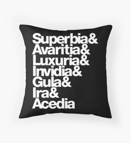 saligia (latin) Throw Pillow