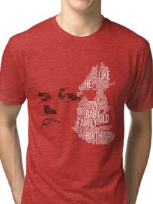The white stripes - seven nation army Tri-blend T-Shirt