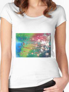 Neo Utopische Welt Women's Fitted Scoop T-Shirt