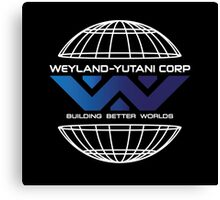 Weyland Yutani - World Gradient Logo Canvas Print