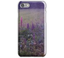Nightly lupines iPhone Case/Skin