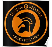 "TROJAN RECORDS "" SKAD'S FOR LIFE "" Poster"
