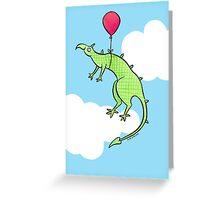 Green Dragon Birthday Greeting Card