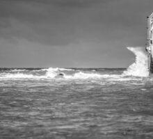 Storm at Sea Sticker