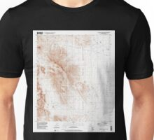USGS TOPO Map Arizona AZ Coffeepot Mountain 310942 1996 24000 Unisex T-Shirt