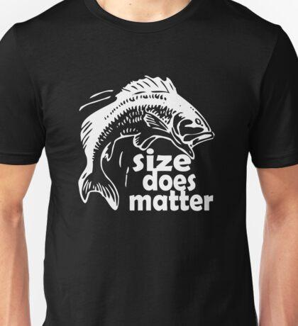 FISHING SIZE DOES MATTER Unisex T-Shirt
