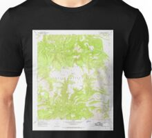 USGS TOPO Map Arizona AZ Willow Mtn SE 314135 1967 24000 Unisex T-Shirt
