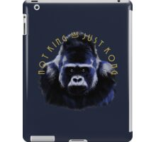 Just Kong iPad Case/Skin