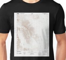 USGS TOPO Map Arizona AZ Coffeepot Mountain 20111025 TM Unisex T-Shirt