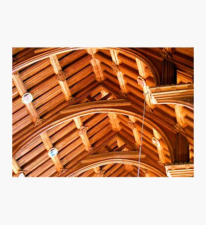 Ceiling in Chester Cathedral Photographic Print